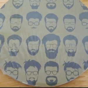 Friendsgivng 20 Bearded Bespeckled Coasters